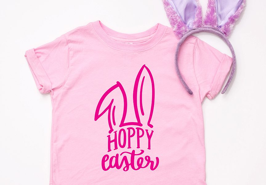 Everyday Party Magazine Simple Easter Shirts and Onesie Ideas #SVG #Onesies #BabysFirst