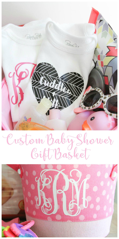 Custom Baby Shower Gift Basket Everyday Party Magazine