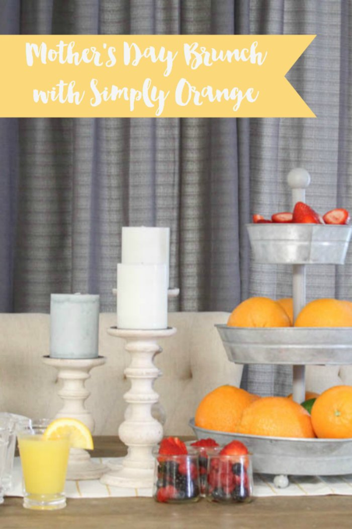 Everyday Party Magazine Mother's Day Brunch with Simply Orange #MothersDay #Mocktail #Brunch #WholeFoods #SimplyOrange