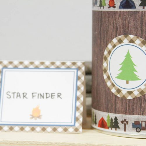 Everyday Party Magazine Star Finder DIY #CampingParty #SpaceParty #DIY #KidsCrafts