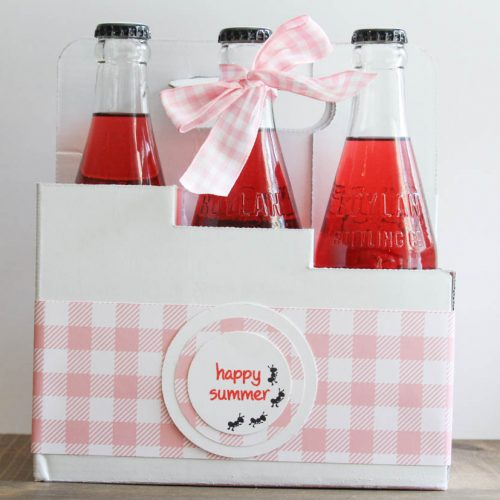Everyday Party Magazine Picnic Party Favors #Xyron #DIY #Picnic #Gingham