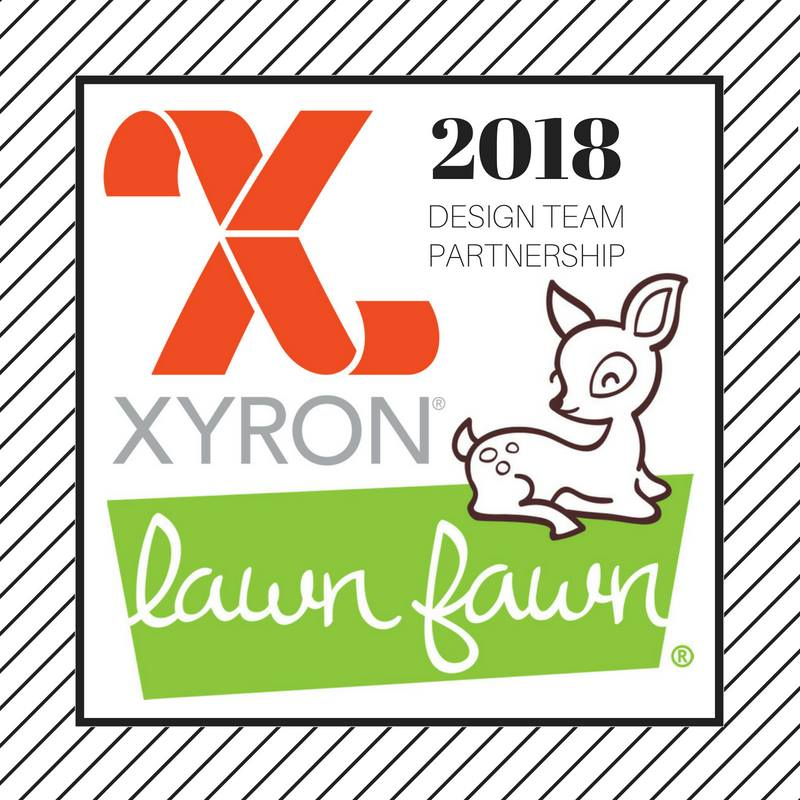 Everyday Party Magazine Xyron and Lawn Fawn Design Team Project