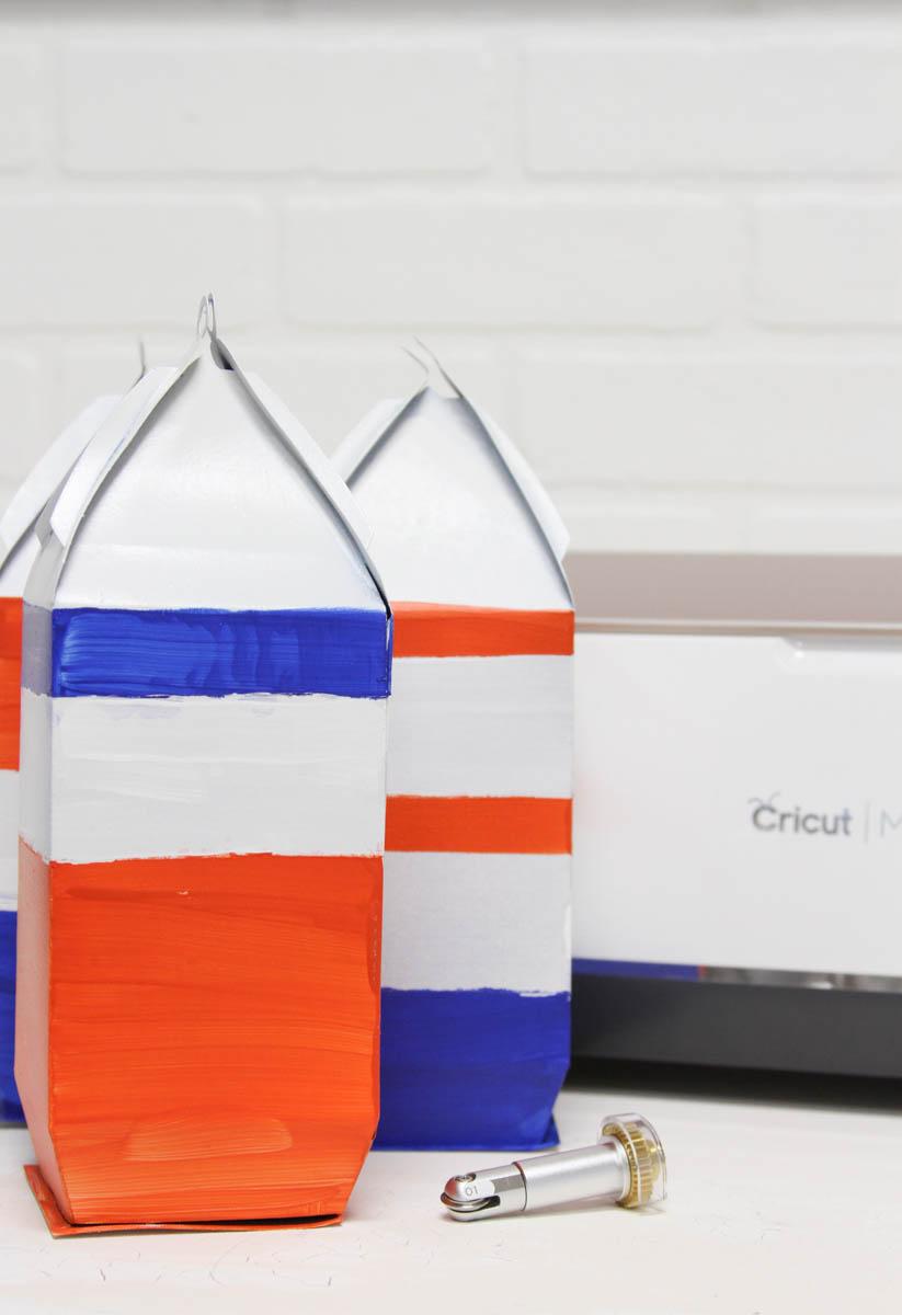 Everyday Party Magazine Simple Paper Buoys with the Cricut Scoring Wheel #Cricut #CricutMaker #DIY #SharkWeek