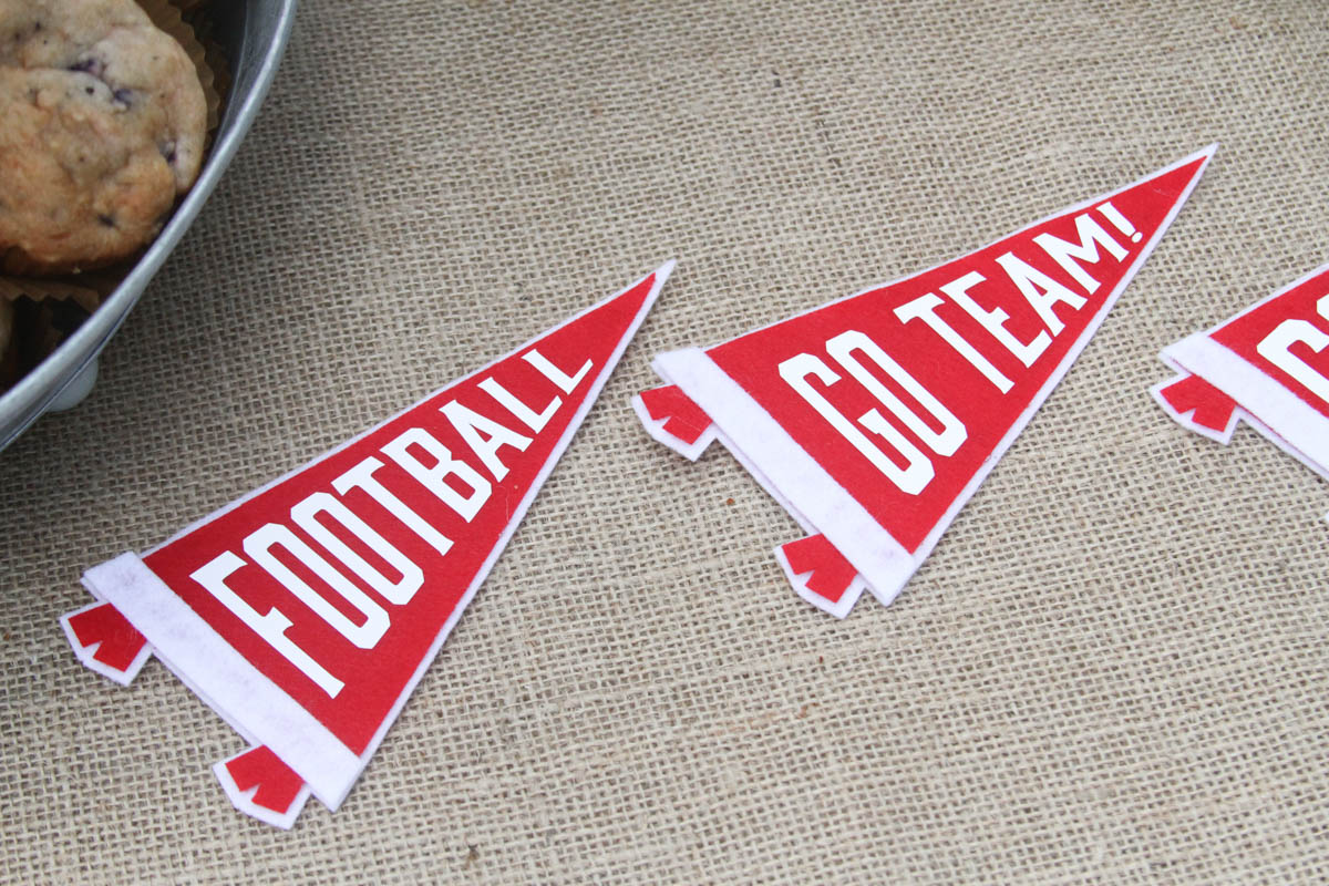 DIY Football Party Party Favors - Everyday Party Magazine