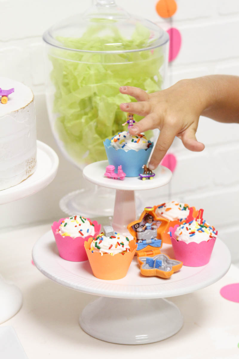 Polly Pocket Bite Size Cupcakes
