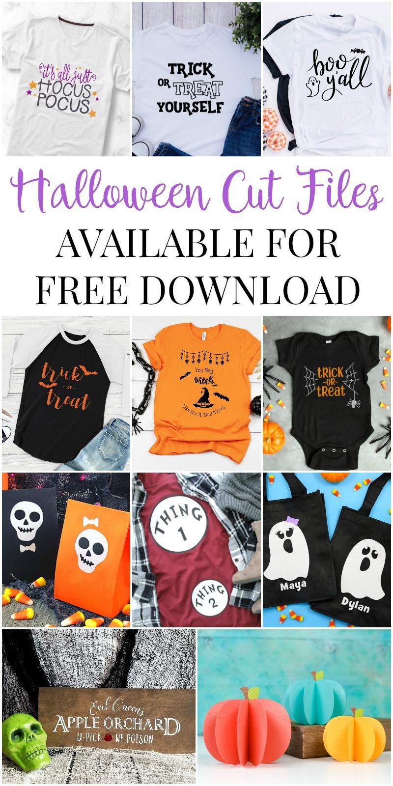 Halloween SVG Blog Hop Collage