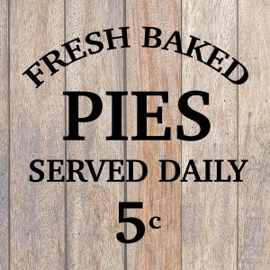 Fresh Baked Pies SVG
