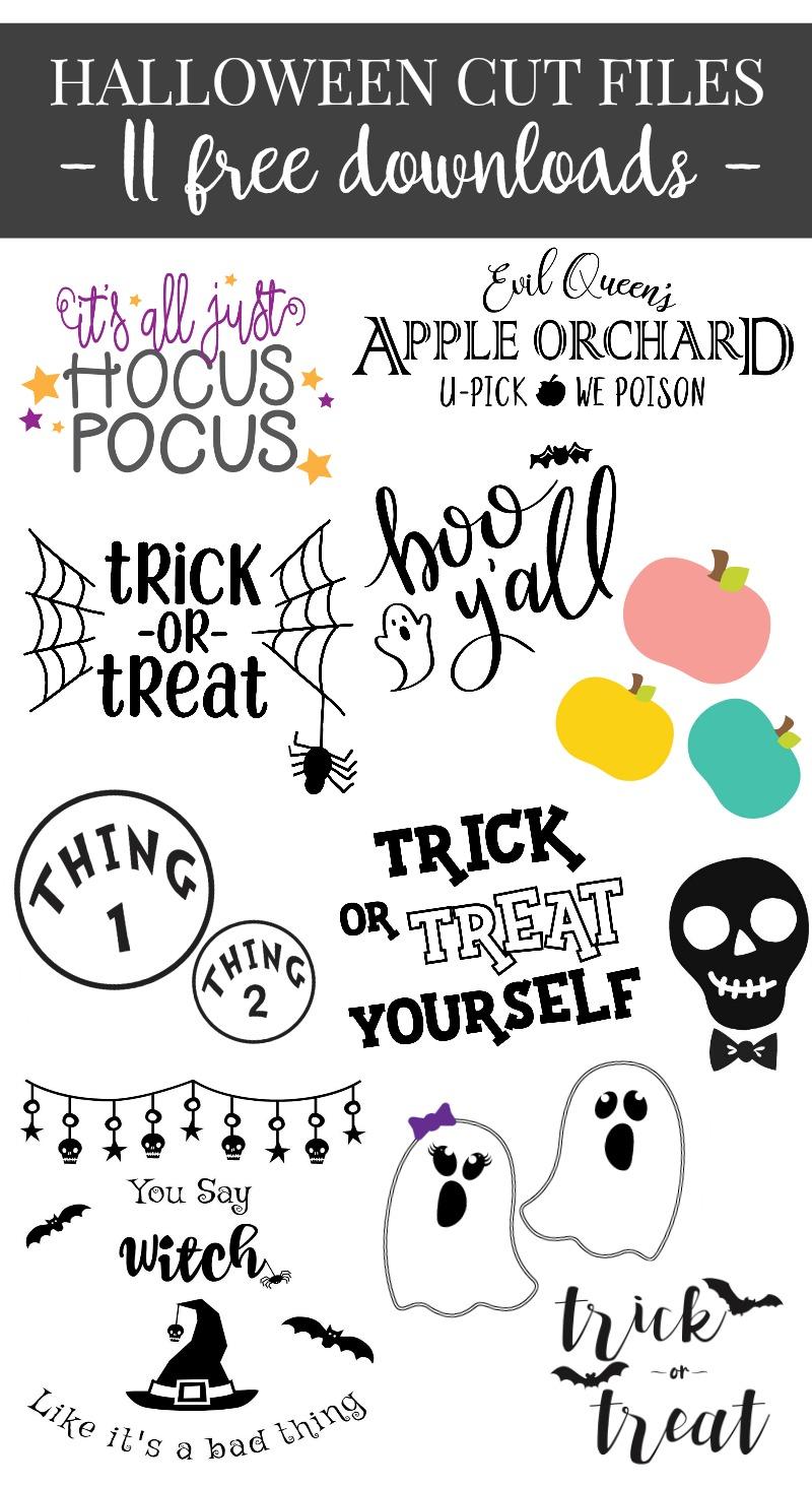 Halloween SVG Collage