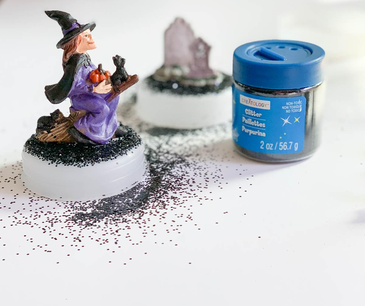 Halloween Witch Glitter