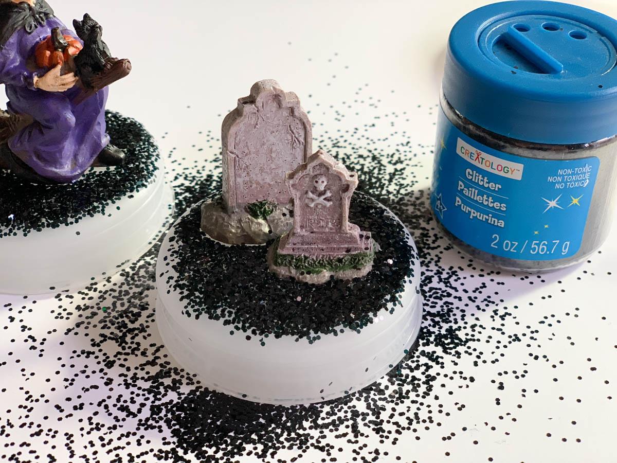 Halloween Miniatures Glitter