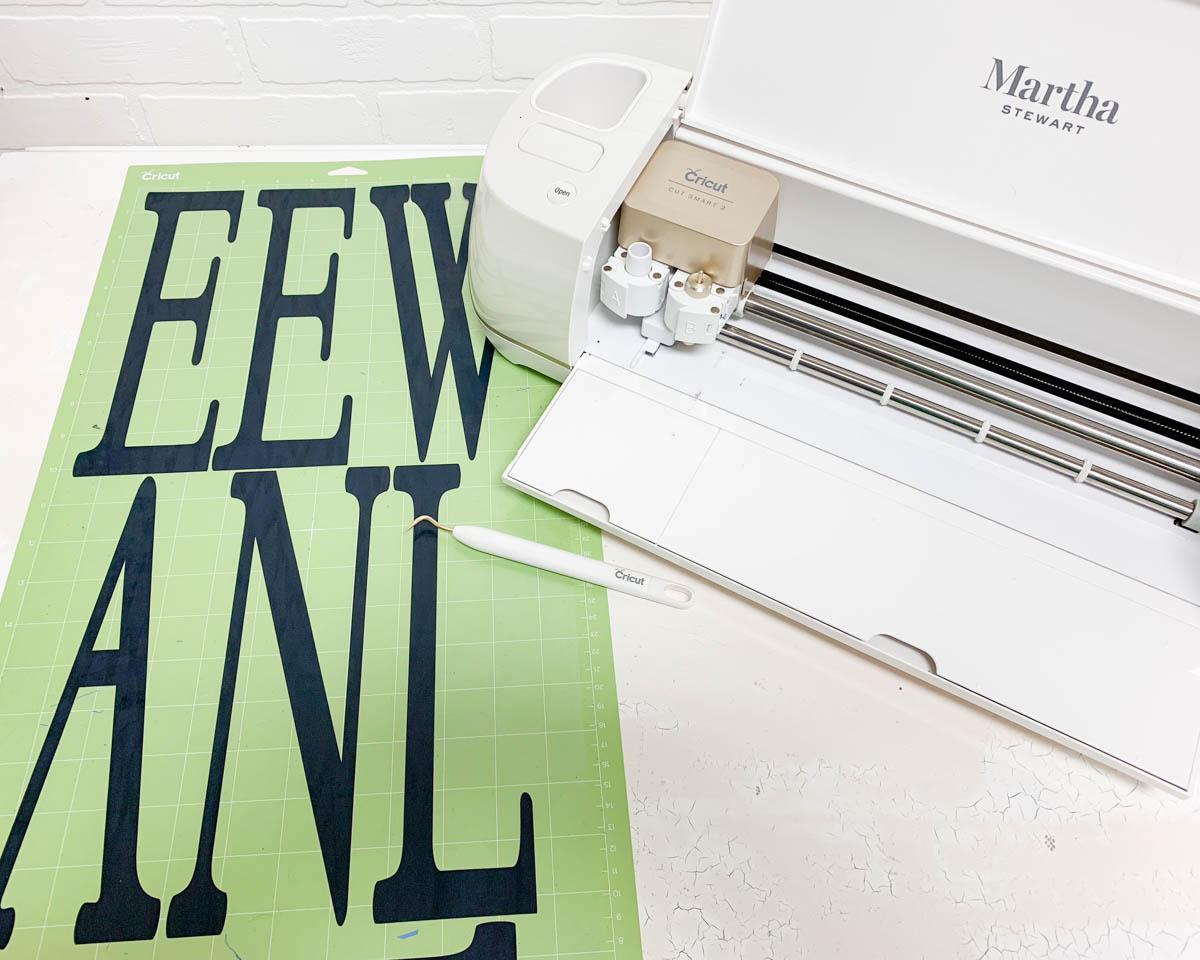 Cricut Explore Air 2 Martha Stewart Iron On Vinyl
