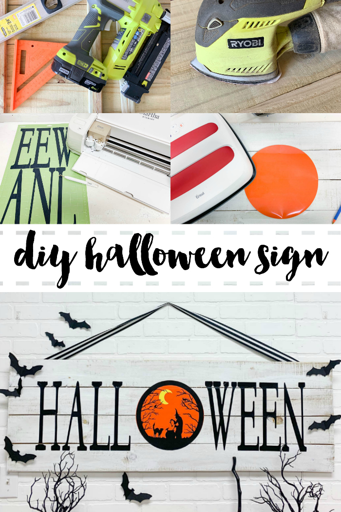 Rustic Halloween Sign Tools Cricut Cricut EasyPress2