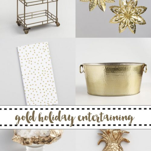 Holiday Entertaining Collage