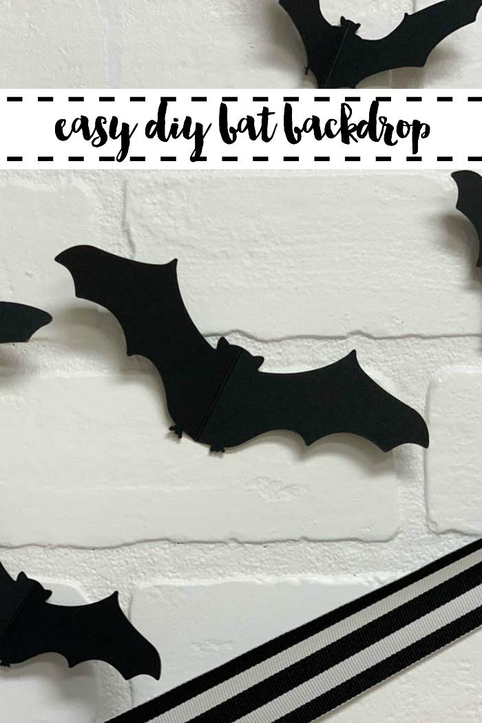 Halloween Decor Paper Bats