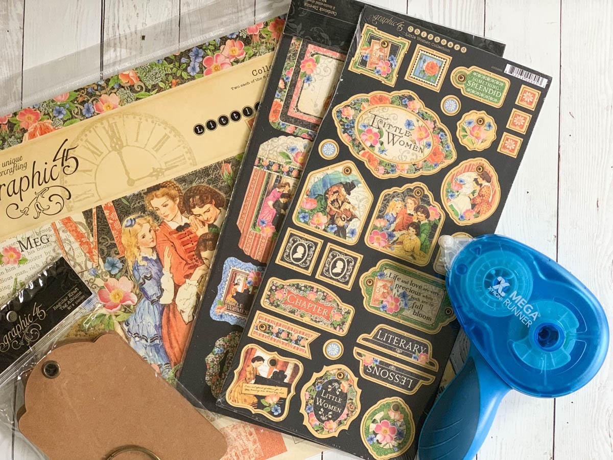 Xyron Mega Runner Graphic45 Scrap Book Supplies