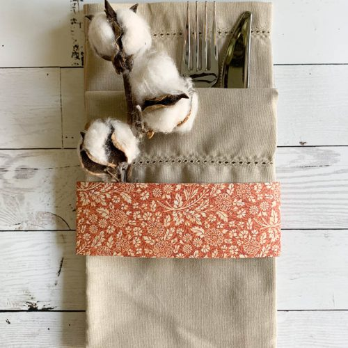 Linen Napkin Cotton Stems