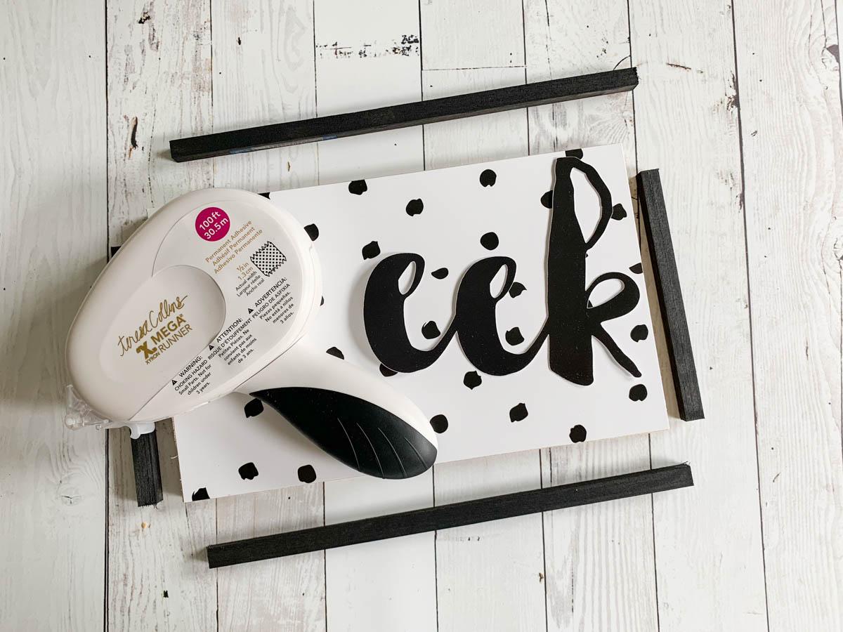 Eek Sign DIY