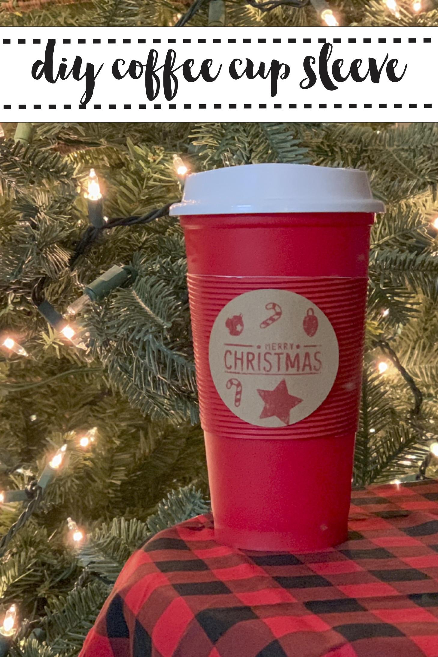 Coffee Cup Christmas Tree