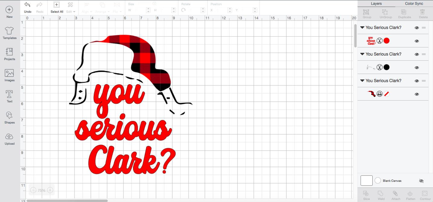 Free Christmas SVG You Serious Clark?