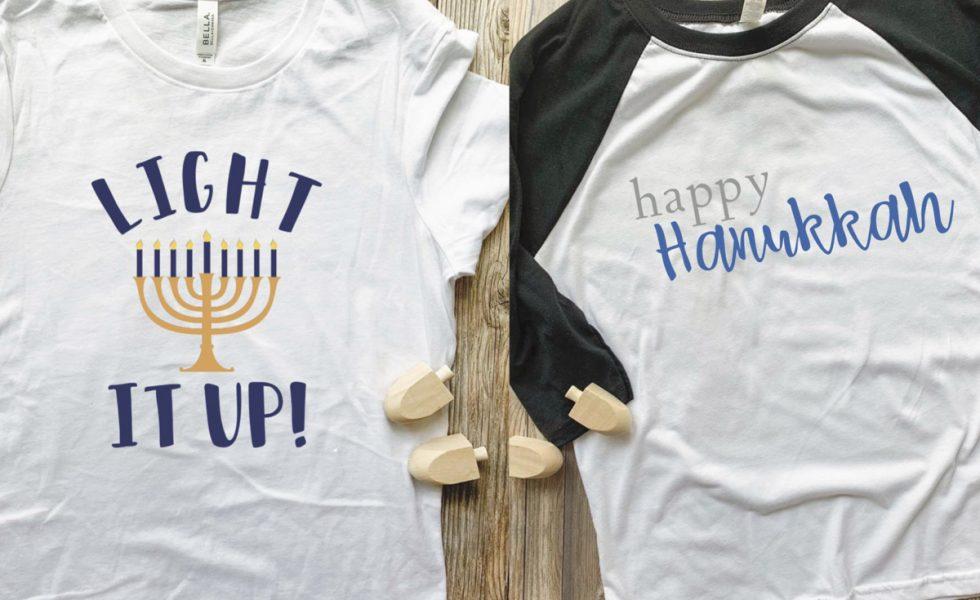 Two Hanukkah Shirts