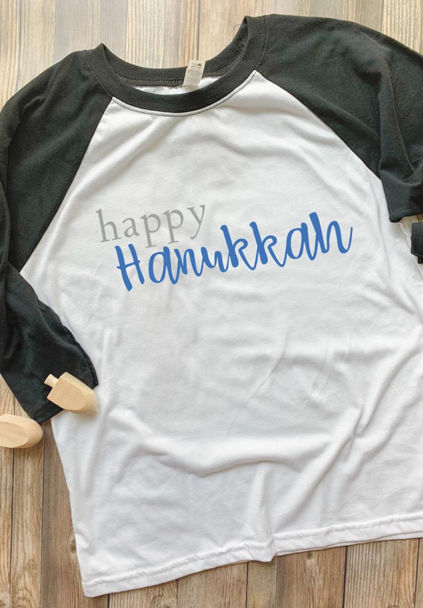 Happy Hanukkah Raglan Shirt