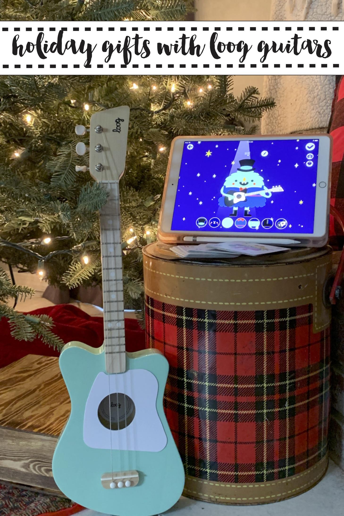 Loog Guitar iPad Cooler Christmas Tree