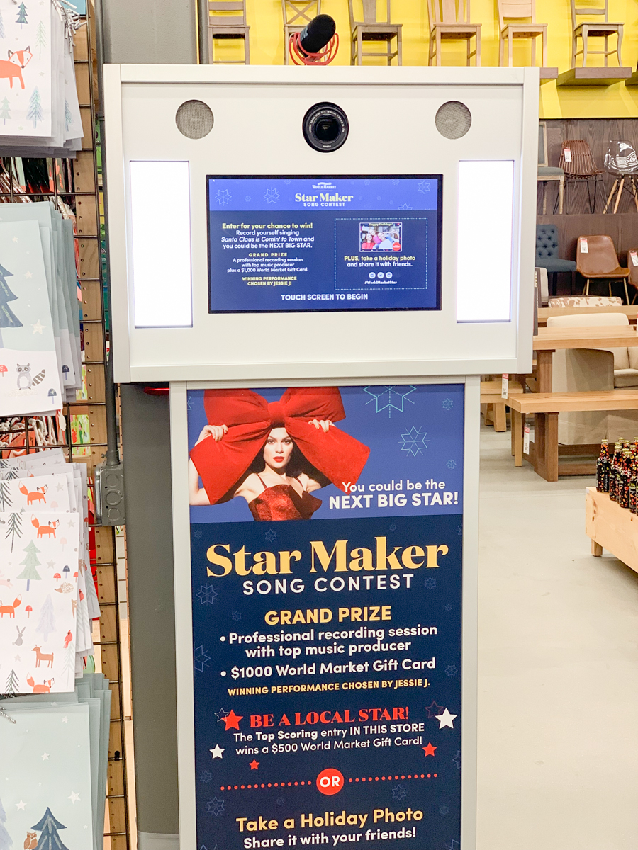 Star Maker Contest Singing Station