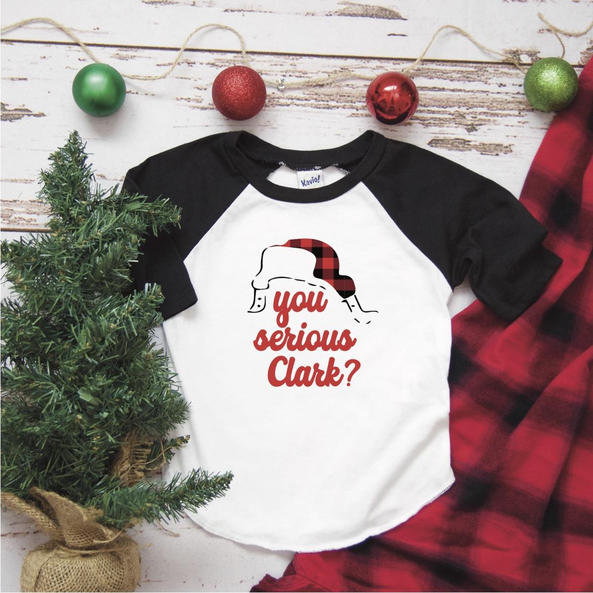 Christmas Raglan Shirt