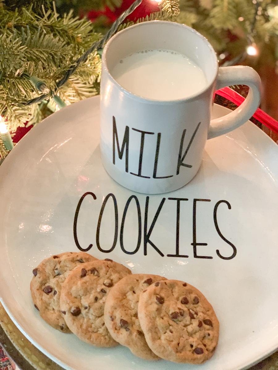 Cookies and Milk for Santa Set