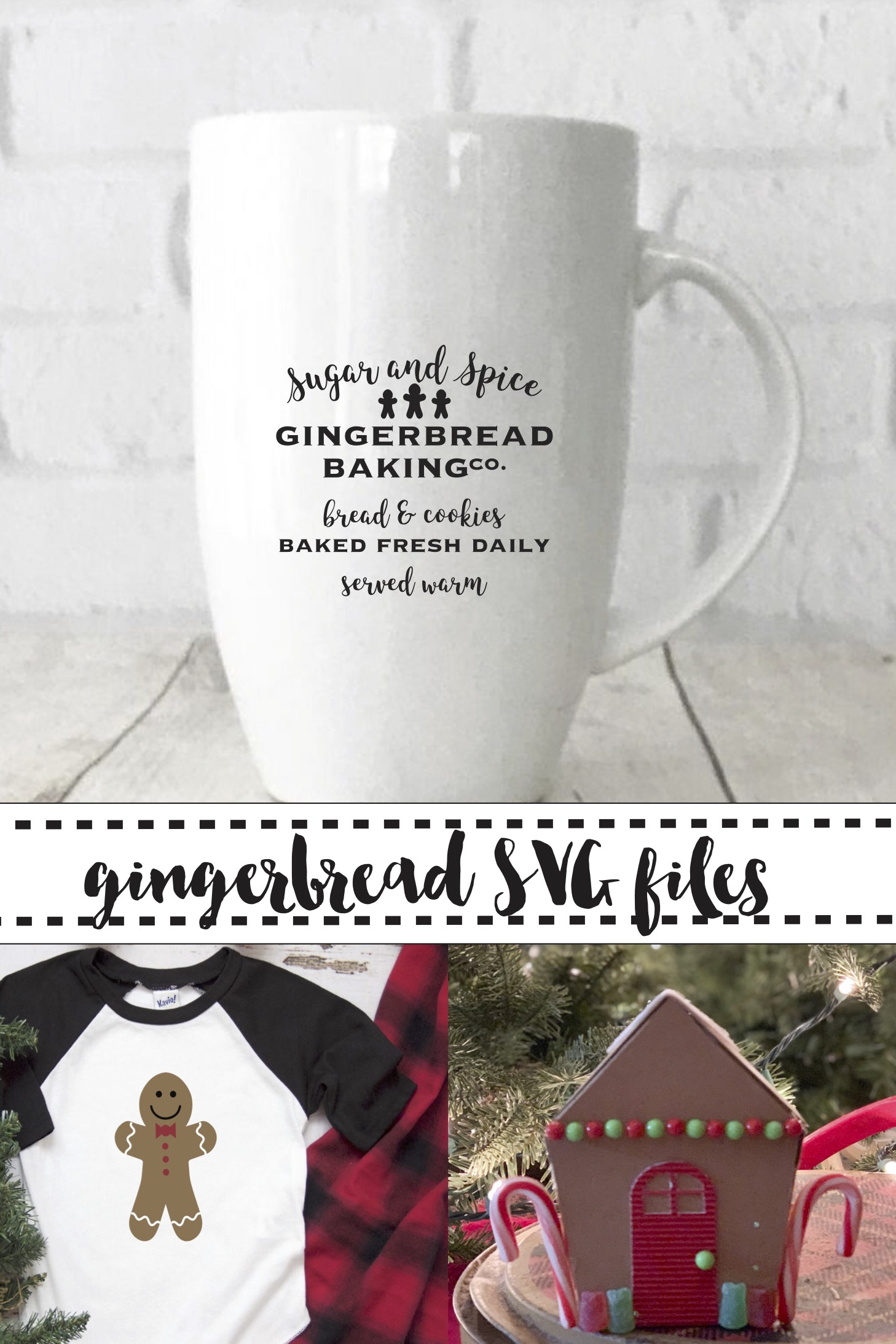 Gingerbread House Gingerbread Shirt Cocoa Mug