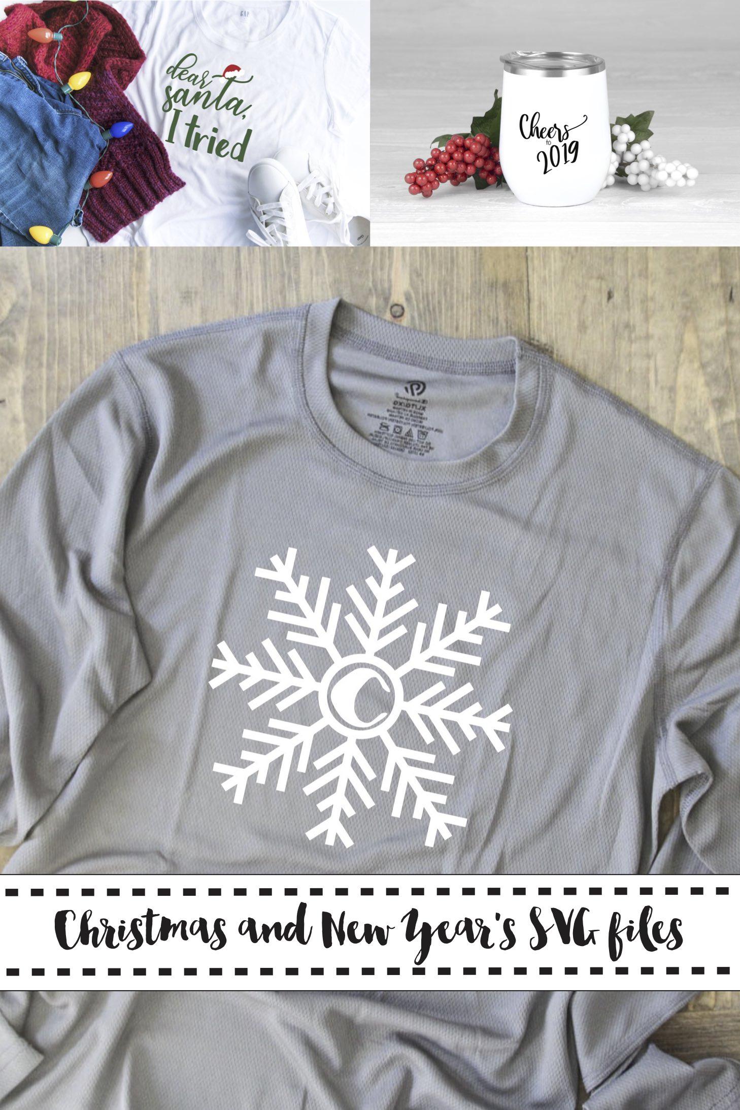 Holiday shirts New Years wine tumbler