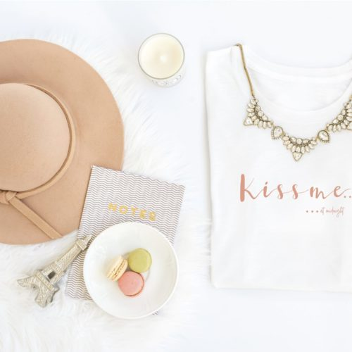 Shirt hat macarons