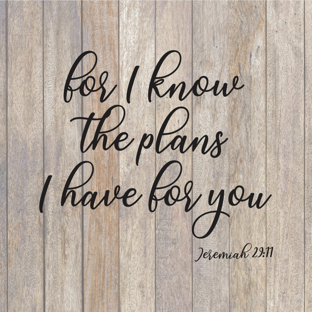 For I Know The Plans I Have For You Svg Farmhouse Svg Svg