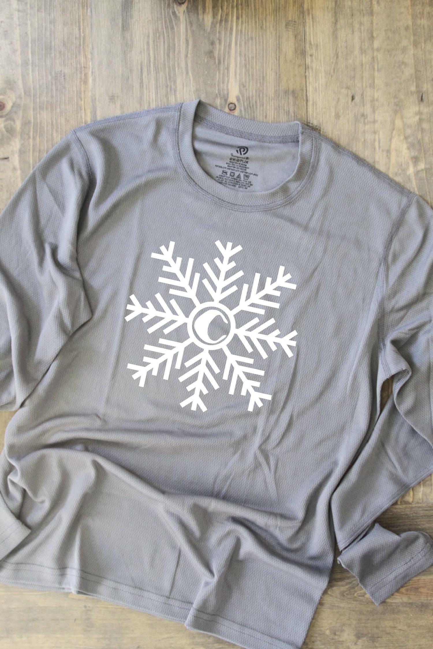 Snowflake Pajama Top