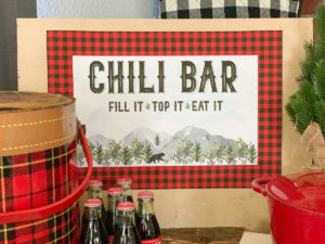 Rustic Chili Bar