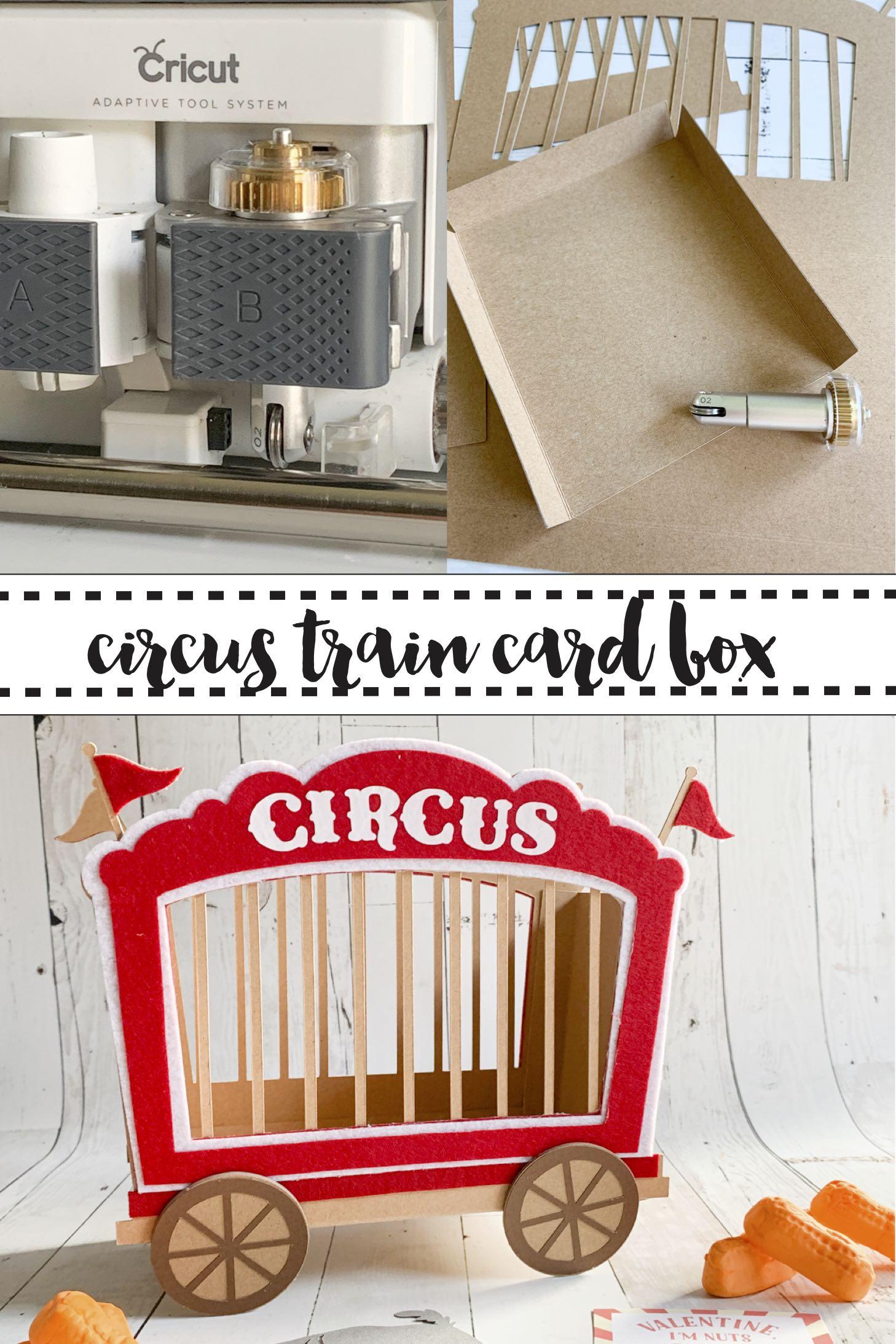 Scoring Wheel Kraft Board Circus Train Box