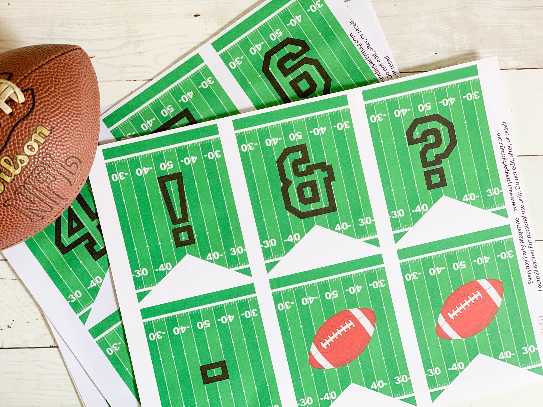 Printable Football Banner