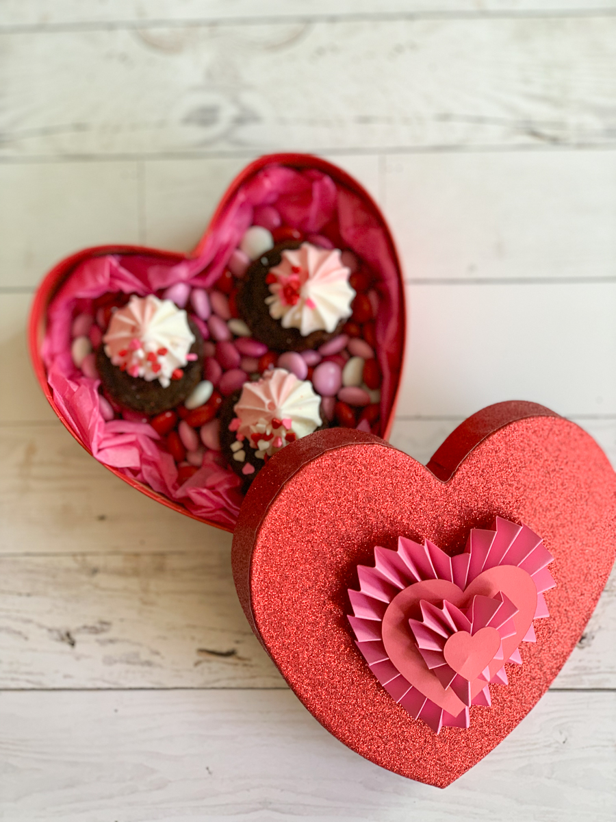Heart Shaped Valentine's Day Box