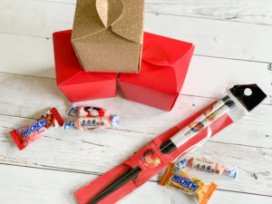 Chinese Take Out Boxes Chopsticks Candies