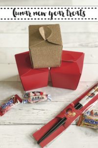 Chinese Food Take Out Boxes Chopsticks Candies