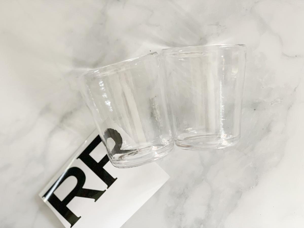 Cups Vinyl R Monogram