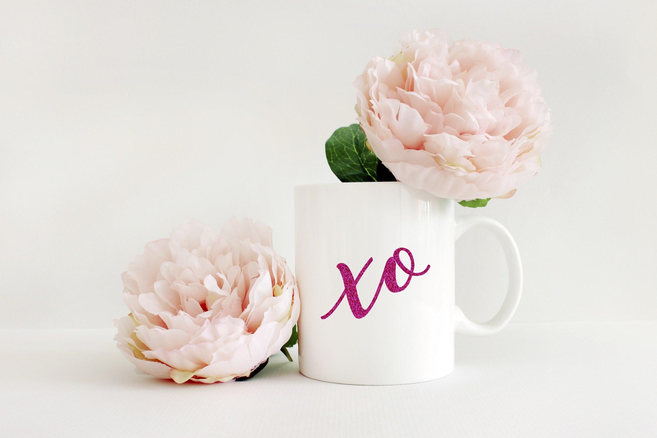 XO Valentine's Day Mug