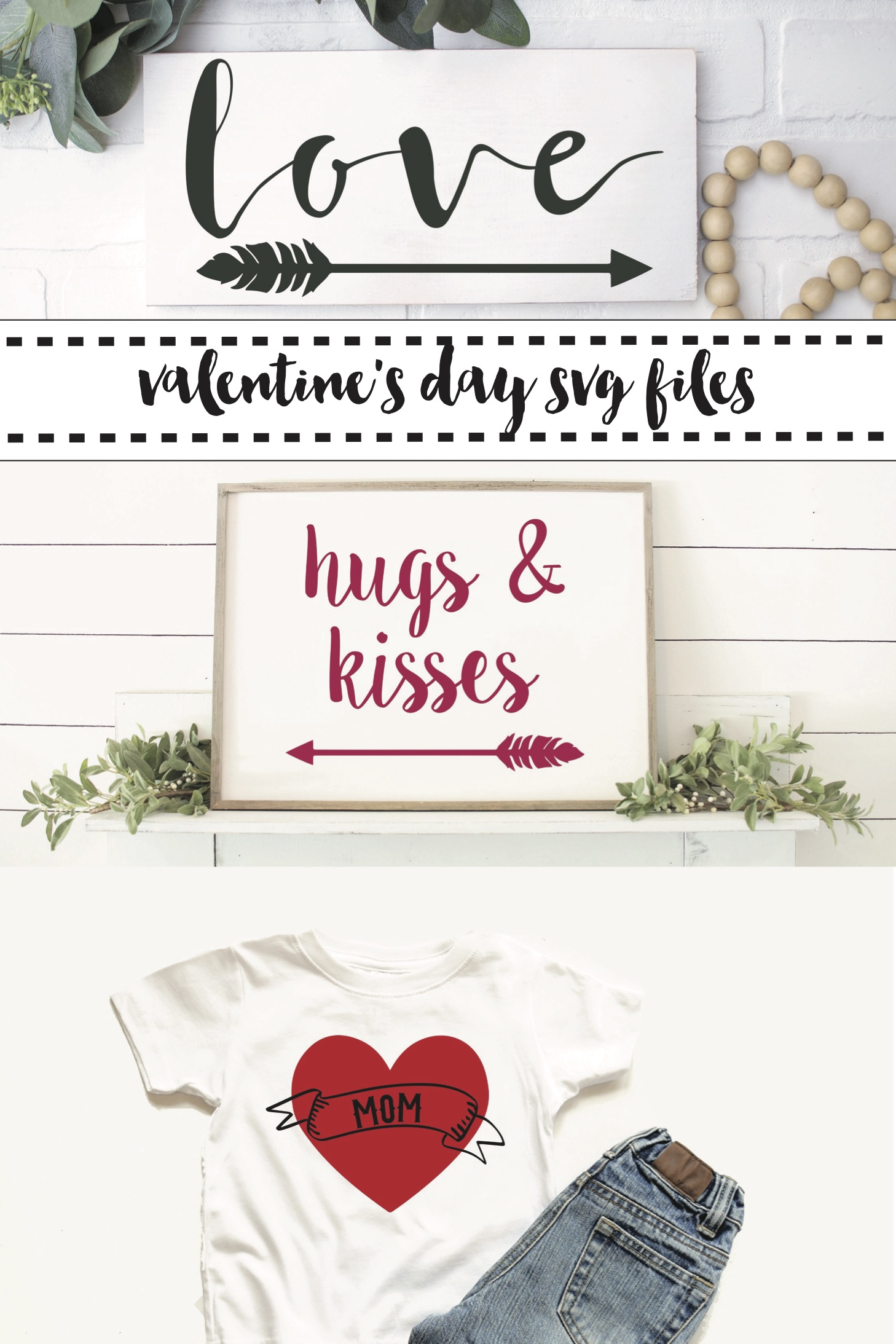 Farmhouse Style Signs Boy's Valentine's Day Shirt