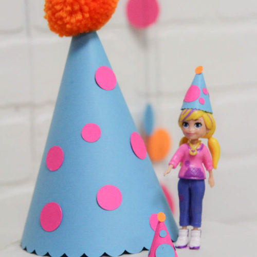 Polly Pocket Party Hat
