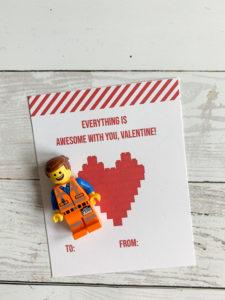 LEGO MiniFigure Valentine