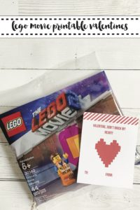 LEGO Movie Valentine's Day Card