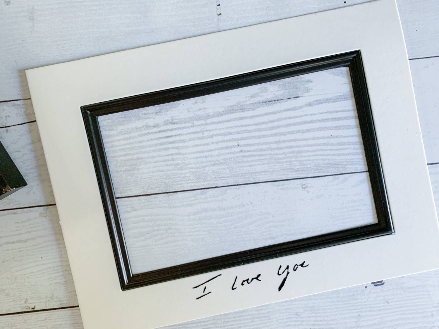 Customized Personal Frame