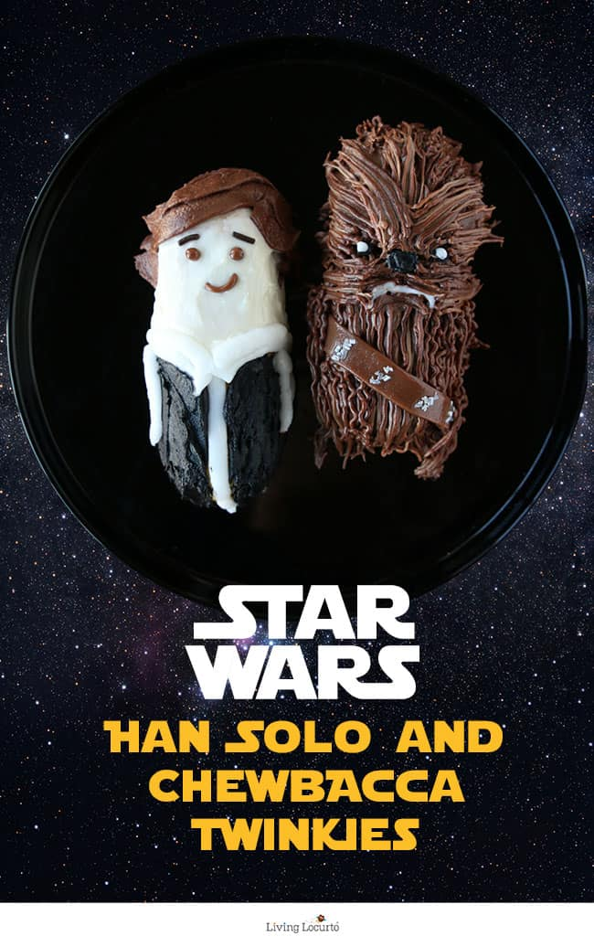 Han Solo and Chewbacca Cakes