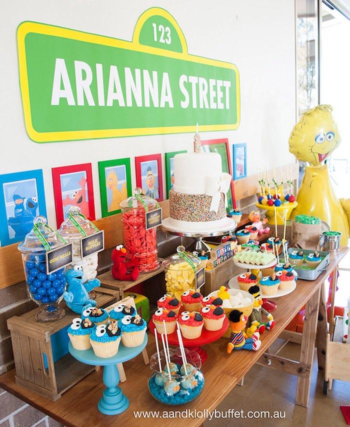 Vintage Sesame Street Party